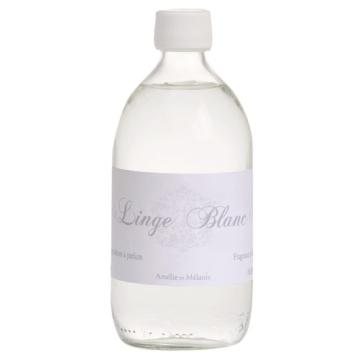 Recarga perfume para mikados Amelie et Melanie Linge Blanc