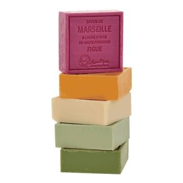 Jabón Marsella lothantique. Diferentes fragancias