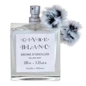 Perfume de almohada vaporizador givre Blanc