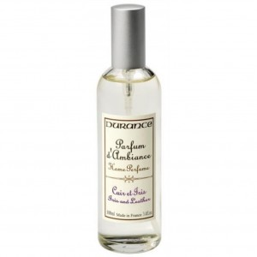 Perfume ambiente vaporizador cuero lirio.