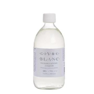 Recarga perfume para mikados Amelie et Melanie Givre Blanc