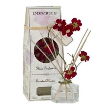 Mikado con guirnalda de  flores fragancia lavanda