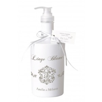 Jabón líquido linge blanc dosificador