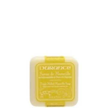 Jabón Marsella aceite esencial Limón y Gengibre.