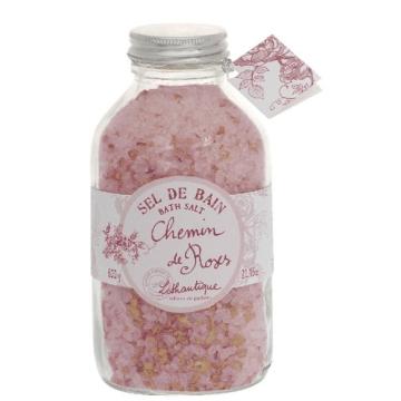 Sales de baño rosas. Chemin de roses lothantique.
