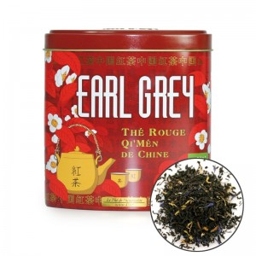 Te Rojo Earl Grey con bergamota.