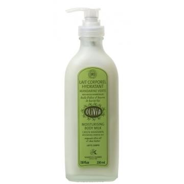 Leche Corporal Hidratante Bio, al aceite de oliva y mandarina.