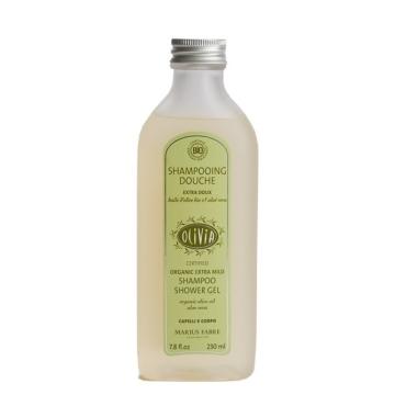 Champú Bio al aceite de oliva y aloe vera.