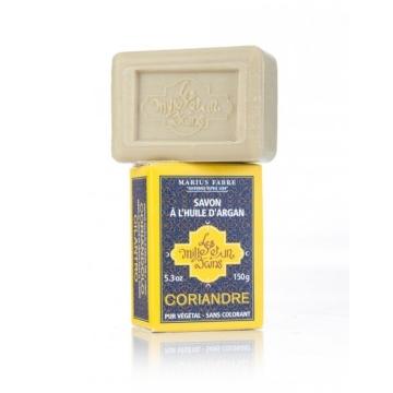 Jabón con aceite de argán, perfumado con cilantro 150g.