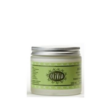 Crema hidratante con aceite de oliva y manteca de karité. 100ml